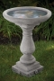 "24"" Embossed Bird Bath"