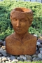 "16"" Bust Planter - Woman"