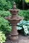 "57"" 2 Tier Fluted Pineapple Fountain"
