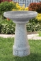 "24"" Lovebirds Bird Bath"