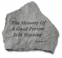 The Memory of a Good Person is a Blessing