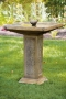 "32"" Square Garden Bird Bath"