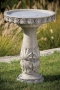"26"" Classic Scallop Shell Bird Bath"