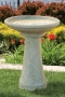 "24"" Cottage Bird Bath"