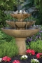"48"" Tranquility Spill Fountain With Birds"