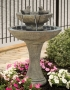 "34"" Tranquility Spill Fountain With Birds"