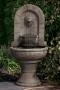 Lion Finial Garden Fountain