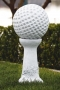 "12"" Golf Ball on Vine Pedestal"