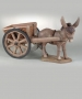 Extra Large Donkey and Cart