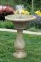 "30"" Chelsea Fleur De Lis Round Fountain"