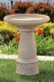 "24"" Tuscan Sun Bird Bath"