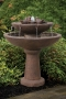 """39"""" Tranquility Spill Fountain With Birds"""