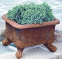 "15"" Basin Planter With Feet"
